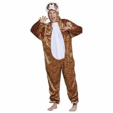 Verkleedverkleedkleding tijger kind tip