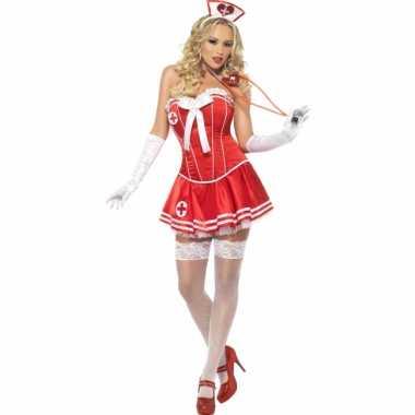 Verpleegster verkleedkledingje rood tip