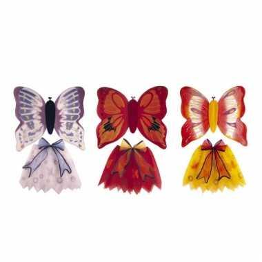 Vlinderverkleedkleding kind tip