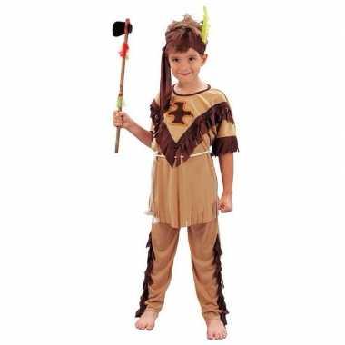Voordelig indiaan verkleedkledingje kind tip