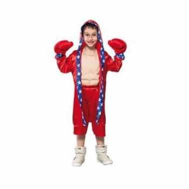 Voordelige bokser verkleedkledings kind tip