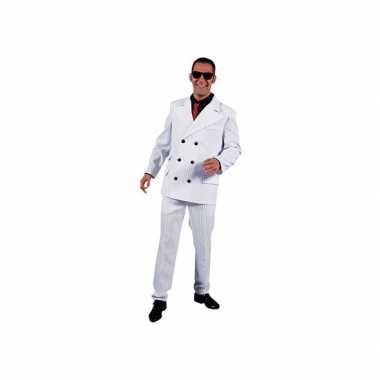 Witte maffia verkleedkledings heren tip