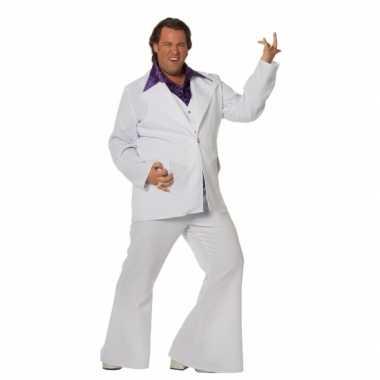 Witte verkleed verkleedkleding heren grote maat tip