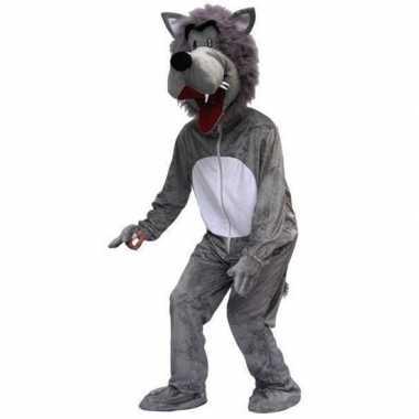 Wolf verkleedkleding volwassenen tip