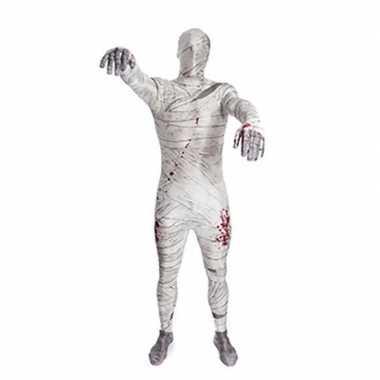 Zentai mummie verkleedkleding tip