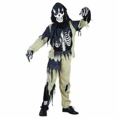 Zombie skeletten verkleedkleding jongens tip