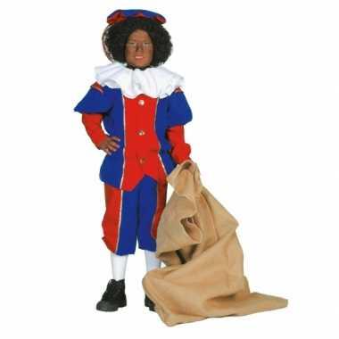 Zwarte Piet verkleedkleding kind tip