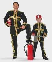 Carnaval brandweer verkleedkleding kind