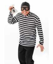 Inbreker carnavals verkleedkleding