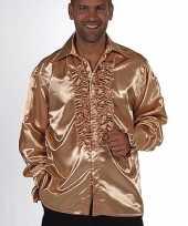 Verkleedkleding bling bling overhemd heren