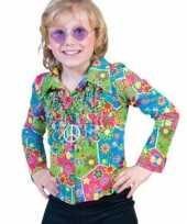 Verkleedkleding jaren 60 blouse kind
