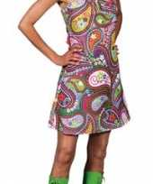 Verkleedkleding jaren 60 halter jurk dames
